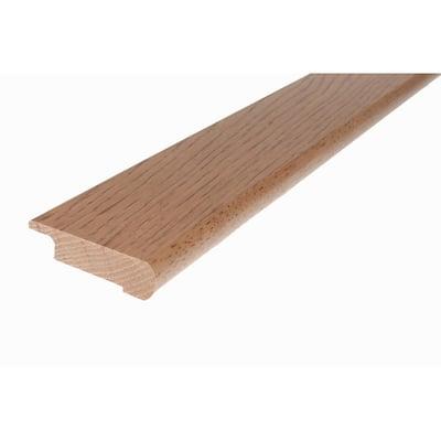Solid Hardwood Jesaja 0.5 in. T x 2.75 in. W x 78 in. L Overlap Stair Nose