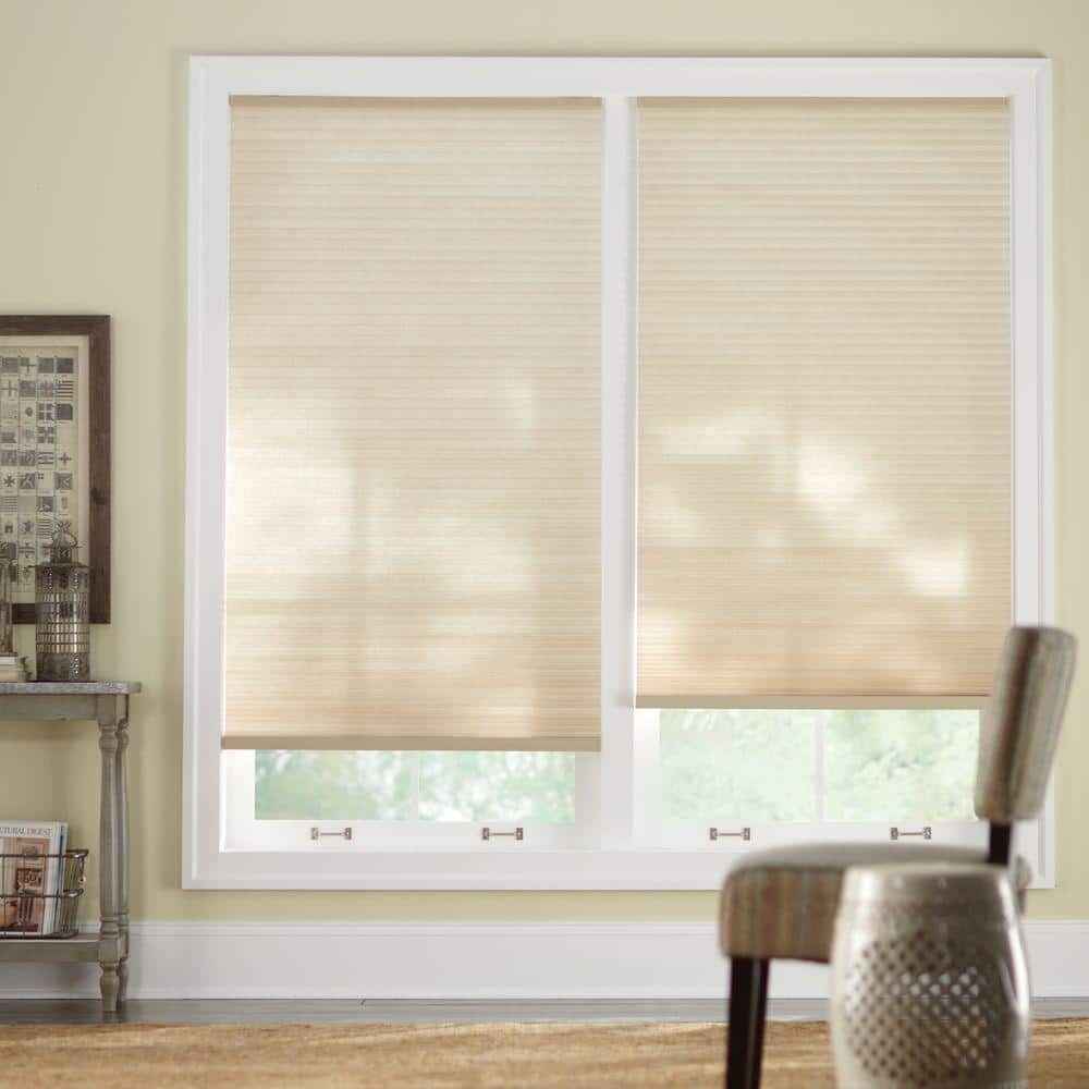 Home Decorators Collection Sahara Cordless Light Filtering Cellular Shade 29 In W X 48 In L 10793478623525 The Home Depot