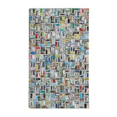 Colorful Magazine Abstract Wall Art