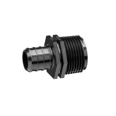 Polymer Male Adapter 1/2 in. Barb x 1/2 in. Male NPT, Lead Free