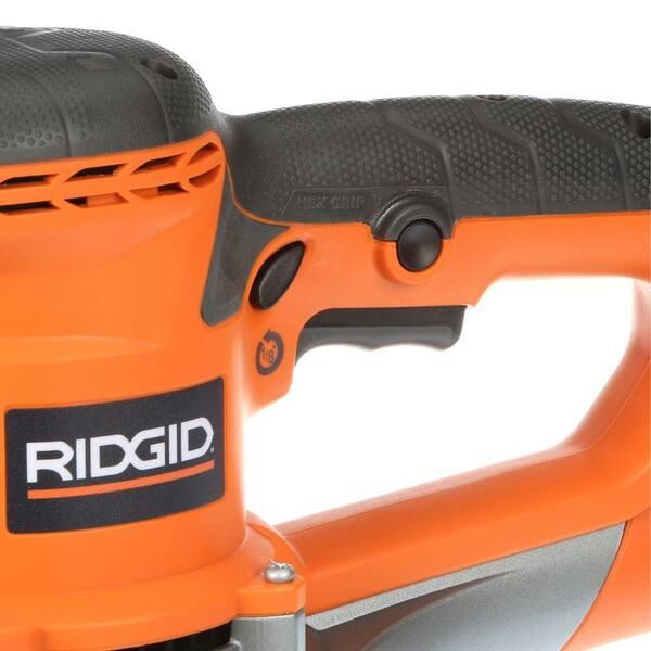 NOT WORKING-RIDGID 4 Amp Corded 6 in Variable-Speed Dual Random Orbital Sander