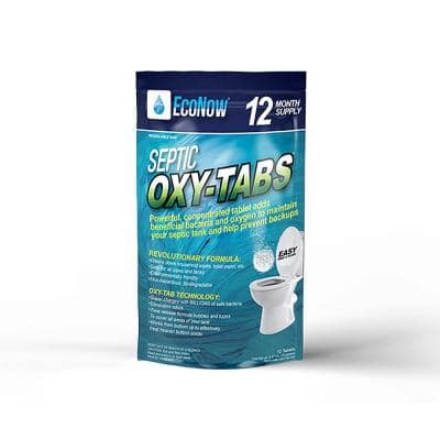 Oxy-Tabs Septic Tank Treatment, Maintenance and Cleaner - 12 Month Supply