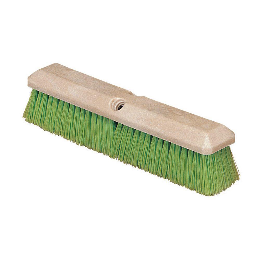 14 in. Nylex Vehicle Wash Scrub Brush in Green (Case of 12)