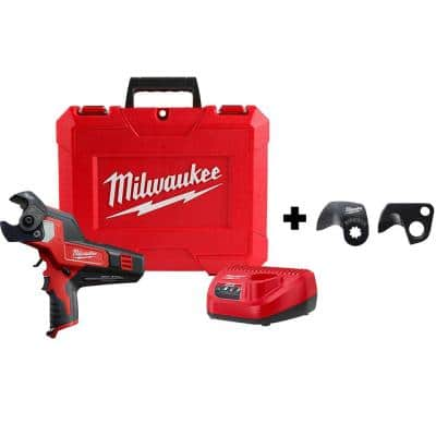 M12 12-Volt Lithium-Ion Cordless 600 MCM Cable Cutter Kit with 3.0Ah Battery, Charge, Replacement Blade and Hard Case