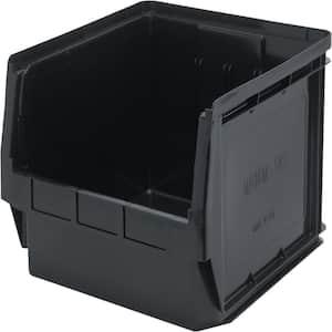 Recycled Magnum 19-Gal. Storage Tote in Black (1-Pack)