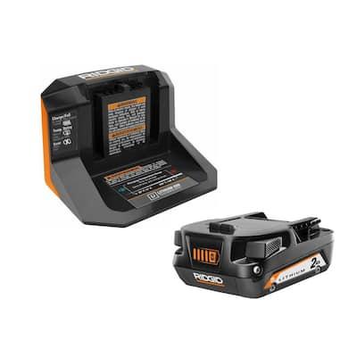 18-Volt Lithium-Ion 2.0 Ah Battery Starter Kit