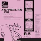 FOAMULAR 150 1 in. x 4 ft. x 8 ft. R-5 Scored Square Edge Rigid Foam Board Insulation Sheathing