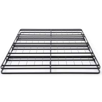 Instant Folding Full Low Profile 4-Inch Mattress Foundation Box Spring Replacement