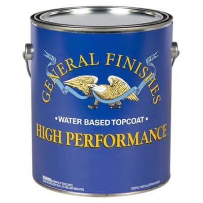 1 qt. Satin High Performance Polyurethane Interior Topcoat