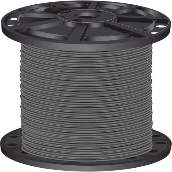 2500/' THHN 10 AWG GAUGE RED NYLON STRANDED COPPER  BUILDING WIRE