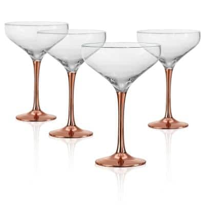 10 oz. Saucer Champagne/Desert Coupe Glass (Set of 4)