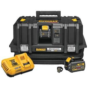 FLEXVOLT 60-Volt MAX Cordless Dust Extractor Kit with (2) FLEXVOLT 6.0Ah Batteries