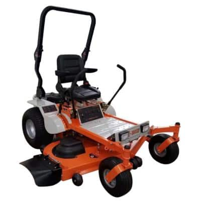 62 in. 25 HP Gas Powered by Briggs and Stratton Pro Engine Zero-Turn Commercial Mower with Free Rollbar and Headlight