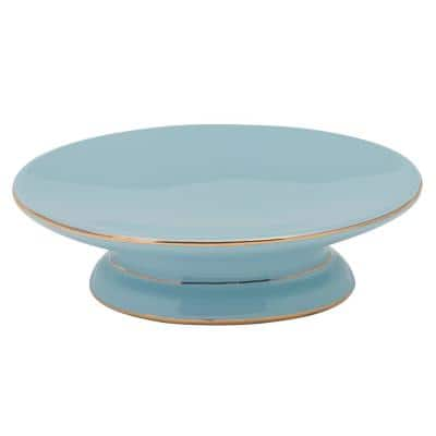 Regency Soap Dish in Aqua
