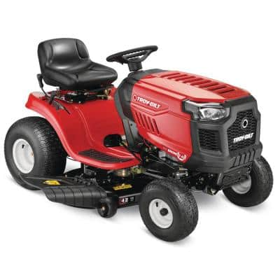 Bronco 42 in. 19 HP Briggs and Stratton Engine Automatic Drive Gas Riding Lawn Mower (CA Compliant)