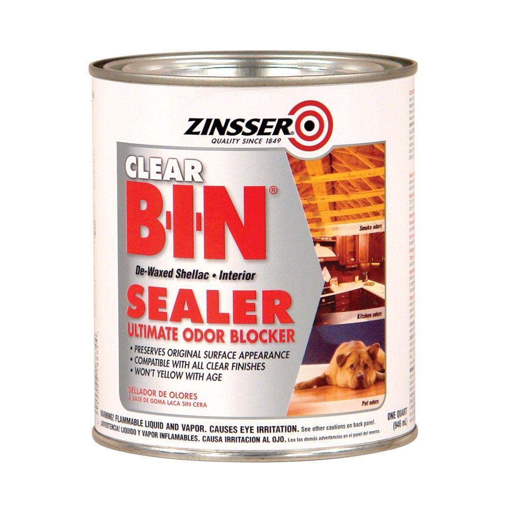 1-qt. B-I-N Shellac-Based Clear Interior Primer and Sealer (Case of 6)