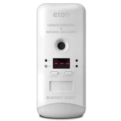 Blackout Buddy Plug-In, Wi-Fi, 2-in-1 Carbon Monoxide, Natural Gas Alarm Detector for Amazon Alexa and Google Home
