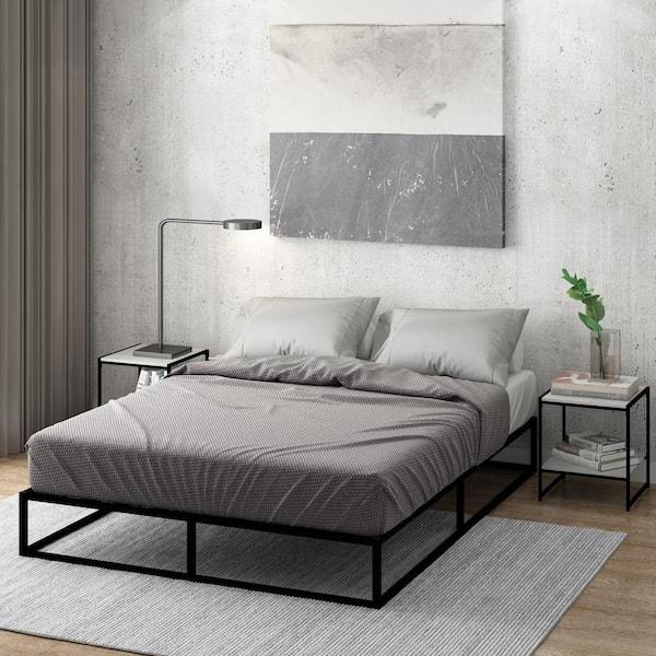 Furinno Monaco Queen Metal Bed Frame, Monaco Queen Bed Frame