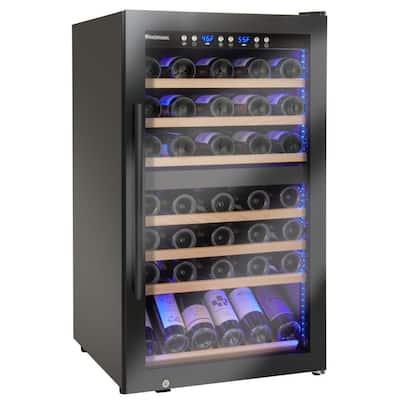 Classic 23.5 in. W 70-Bottle Dual Zone Wine Cellar