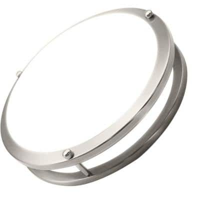 12 in. 1-Light Ceiling Double Ring 20-Watt Dimmable Selectable LED Flush Mount CRI80 1400 Lumens CCT 3000K (10-Pieces)
