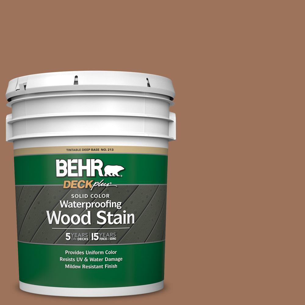 5 gal. #SC-152 Red Cedar Solid Color Waterproofing Exterior Wood Stain