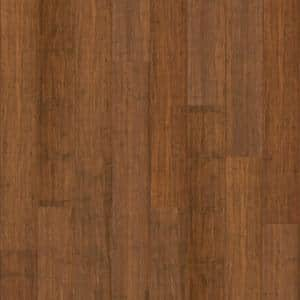 Waterproof Core Aged Amber 1/4 in. T x 5-9/16 in. W x 36-1/4 in. L Wide Click Engineered Bamboo Flooring