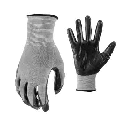 Nitrile Dip Gloves (10-Pair)