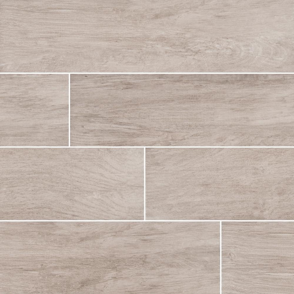 Trafficmaster Capel Ash 6 In X 24 In Matte Ceramic Floor And Wall Tile 17 Sq Ft Case Nhdcapash6x24 The Home Depot