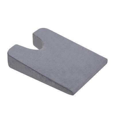 U-Shaped Medium Comfort Micro Suede Standard Pillow