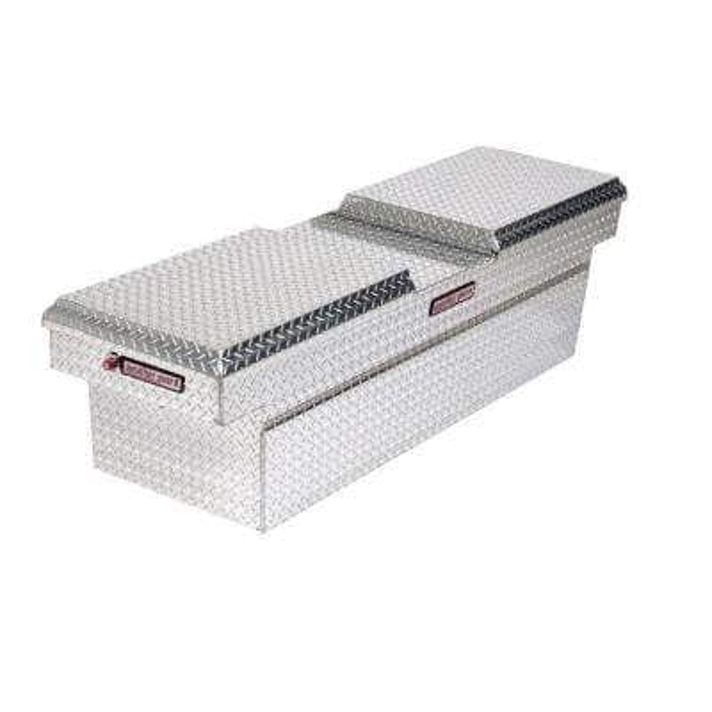 71.5 Diamond Plate Aluminum Full Size Crossbed Truck Tool Box