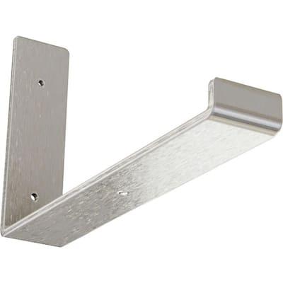 2 in. x 7 in. x 12 in. Stainless Steel Steel Hanging Shelf Bracket