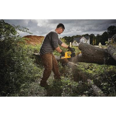60V MAX Cordless FLEXVOLT Chainsaw with Blower Combo Kit (2-Tool) with (1) 9.0Ah Battery and Charger Included