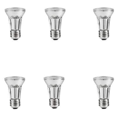 60-Watt Equivalent PAR16 Halogen Dimmable Flood Light Bulb (6-Pack)