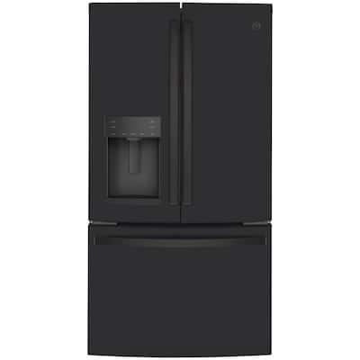 22.1 cu. ft. French Door Refrigerator in Black Slate, Fingerprint Resistant, Counter Depth and ENERGY STAR