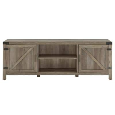 70 in. Grey Wash Tv Stand