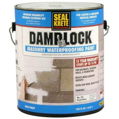 1 Gal. Damplock Masonry Waterproofing Paint