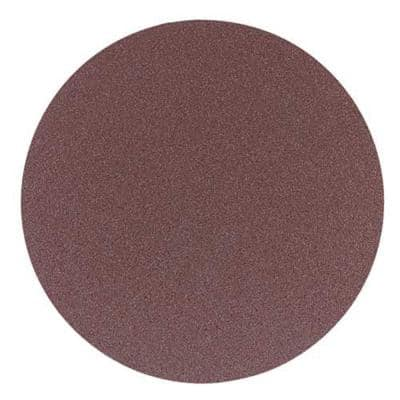 12 in. 50-Grit PSA Aluminum Oxide Sanding Disc (2-Piece)