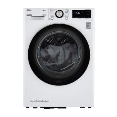 4.2 cu. ft. Compact White Electric Dryer with Dual Inverter HeatPump Technology