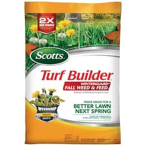 Turf Builder Winterguard 14 lbs. 5,000 sq. ft. Fall Lawn Fertilizer Plus Weed Control