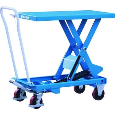 1,540 lbs. 20.5 in. x 39.8 in. Scissor Lift Cart