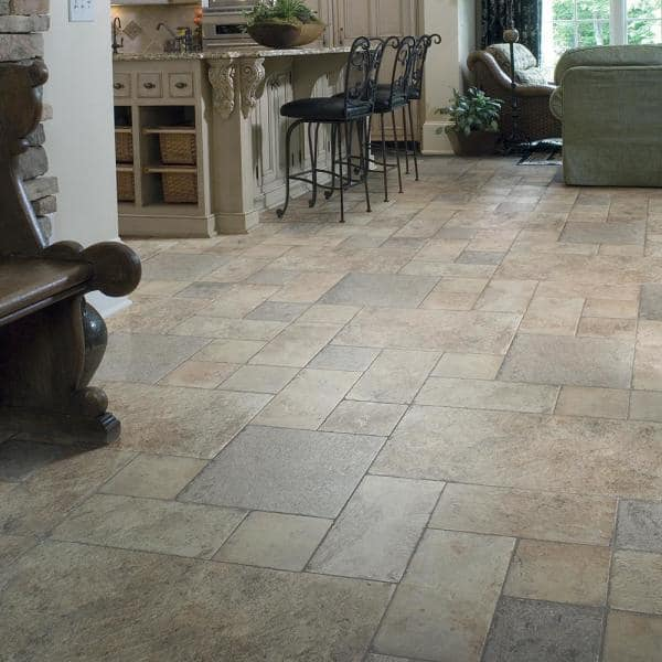 Innovations Tuscan Stone Sand 8 Mm, Laminate Flooring To Tile