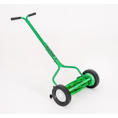 18 in. Manual Walk Behind Push Reel Mower