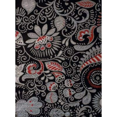 United Weavers Dallas Bandanna Black 8 Ft X 11 Ft Indoor Area Rug 851 11070 912 The Home Depot