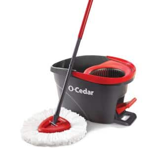 EasyWring Microfiber Spin Mop and Bucket System