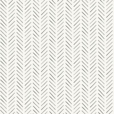 Pick-Up Sticks Black Geometric Paper Pre-Pasted Strippable Wallpaper Roll (Covers 56 Sq. Ft.)