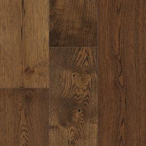 Gingerbread Oak 6.5 mm T x 6.5in. W x 48in. Varying L. Waterproof Engineered Click Hardwood Flooring (21.67 sq.ft./case)