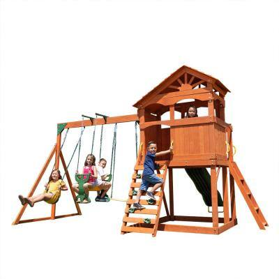 Grove Wooden Swing Set