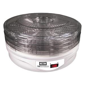 4-Tray White Food Dehydrator