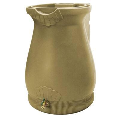 65 Gal. Khaki Urn Rain Barrel