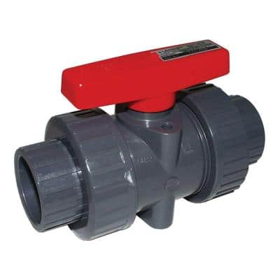 1 in. PVC FPT x FPT True Union Ball Valve